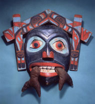 Chief Skawaal's mask.